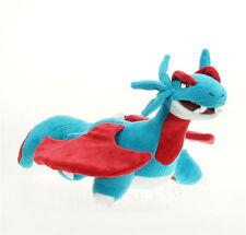 Hot sale New Pokemon Salamence Stuffed Animal Plush Toy Doll Gift 12''