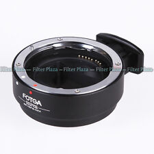 Auto Focus AF Canon EOS EF-S Mount lens TO Sony NEX A7 A7R Adapter Full Fra