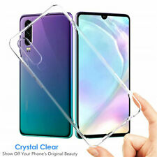 Ultra Clear Transparent Soft Rubbers Slim TPU Case Cover For Huawei P30 6.1 inch