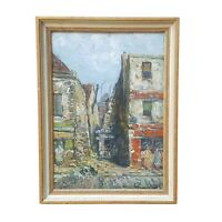 Listed Artist RAYMOND BESSE (1899-1969) OIL PAINTING L'Ile St Denis PARIS FRANCE