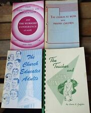 FOUR SUNDAY SCHOOL BOOKS FROM THE 1950's
