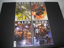 DARK HORSE CITY OF THE DAMNED RIPD COMIC BOOK COLLECTION #1 +  LOT OF 4 COMICS