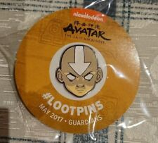 Avatar: The Last Airbender Aang Loot Crate Pin #lootpins May 2017 Guardians