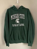 Stadium Athletics Michigan State Spartans Pull Over Hoodie, Green, Large