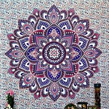 Indian Tapestry Mandala Wall Hanging Bohemian Hippie Bedspread Beach Throw Decor