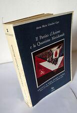 Ciprì,IL PARTITO D'AZIONE E LA QUESTIONE MERIDIONALE,'82[storia,politica,Sicilia