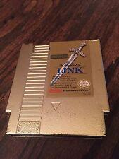 Zelda II: The Adventure of Link Nintendo NES Gold Cart Only Works NE4