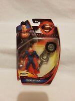 Superman Man Of Steel Superman Figure Mattel/Dc Comics 2013 Aus Seller