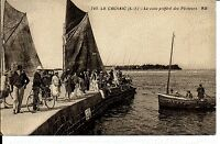 (S-54351) FRANCE - 44 - LE CROISIC CPA PECHEURS A LA LIGNE SUR LE QUAI     A.B.