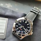 Christopher Ward C60 Trident Pro 600 Dive Watch - 42mm, Black, Complete -6/2021