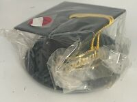Graduation Cap Cake Topper with Tassel Large Base Unbranded Very Nice Condition