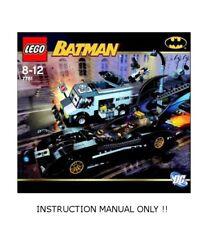 INSTRUCTION MANUAL for LEGO 7781 - BATMAN The Batmobile: Two-Face's Escape