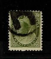 Canada SC# 84 Used / Heave Cancel - S3497