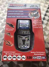 Optimate 4 Dual 1A Batterie Ladegerät, Batterieladegerät, 12 Volt tecMate TM-340