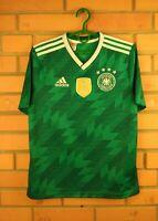 Germany Jersey 2018 2019 Youth 13-14 Away Shirt BR3146 Football Adidas Soccer