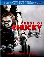 NEW HORROR BLU-RAY + DVD - CURSE OF CHUCKY (UNRATED) - Fiona Dourif,