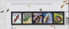 CANADA Souvenir Sheet 2010 #2410a - Beneficial Insects 2nd set - MNH