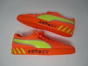 NEW Puma Suede Hazard Orange 368230 01 casual shoe sneaker mens 7 US 6 UK 39 EUR