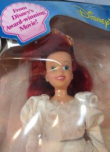 *VINTAGE* ARIEL THE LITTLE MERMAID DISNEY Movie Doll Tyco BRIDE  NEW Box RARE
