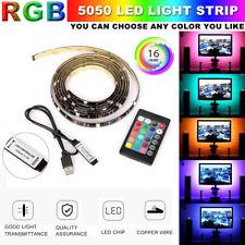 Led TV Hintergrundbeleuchtung LED Stripes Lichterkette Streifen RGB Lichtleiste