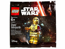 Lego Star Wars Exclusive C-3PO Red Arm Minifigure Polybag 5002948 - Brand New