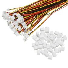 Excellway® 5 Paar Mini Micro PH 1,25mm 3-polig JST Steckverbinder, Kabel+Buchsen