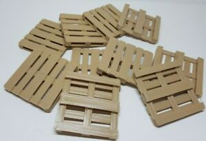 1:32nd scale (#1) 10x Euro Pallets. Full and Half pallets. 5 of each. 3D Printed