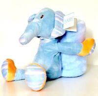 Baby Plush 2 Piece Blanket & Toy Elephant Hippo Soft kids gift security blanket
