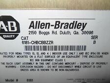 (RR12) ALLEN BRADLEY 6181-CHBCBBZZR SER B INDUSTRIAL COMPUTER