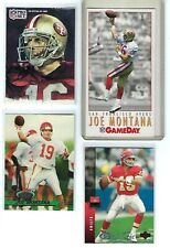 4 card lot - Joe Montana - HOF - San Francisco 49ers