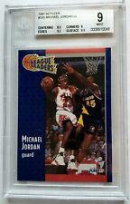 1991-92 Fleer #220 Michael Jordan BGS 9 Mint