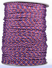 Rebel Camo - 550 Paracord Rope 7 strand Parachute Cord - 1000 Foot Spool