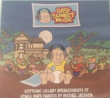 Baby Blanket Music CD Michael Jackson Songs Soothing Lullaby New