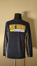 West Virginia Mountaineers Athletic Apparel Long Sleeve Men's Gear For Sport - M