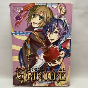 Dictatorial Grimoire, Volume 2: Snow White - Manga (English) FREE SHIPPING!