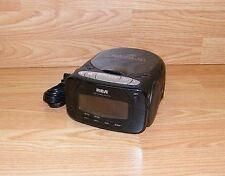 Genuine Rca (Rp5600A) Compact Disc Cd Player / Am/Fm Digital Clock Radio *Read*
