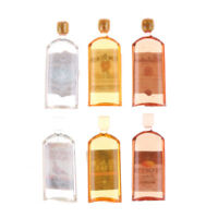 1:12 Dollhouse Home Decor 6PCS Doll House Miniature Accessories BottlesSN