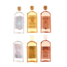 1:12 Dollhouse Home Decor 6PCS Doll House Miniature Accessories Bottle  @Gt