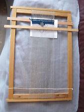 "Old  Wooden Sweden tapestry  Weaving Loom 28"""