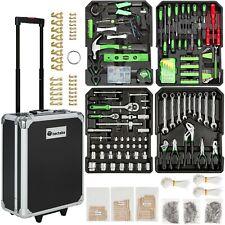 Mallette à outils trolley 1200 pièces valise boite à tire caisse aluminium