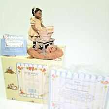 """Mint vtg Enesco Miss Martha's """"Clean Clothes for Dolly"""" Box God's Children Patsy"""