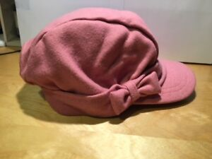 GYMBOREE HOMECOMING KITTY PINK PLAID PAGEBOY HAT 3 4 5 7 8 10 NWT