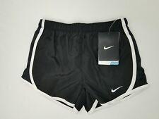 NWT Nike Little Girls Dri-FIT Tempo Running Shorts Team Black 367358 4, 5, 6, 6X