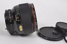 CANON 85mm F1.2 L FD MOUNT w/CAPS, READ DETAILS