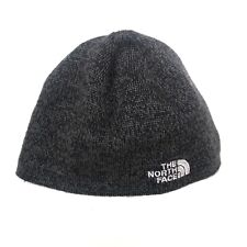 North Face Womens Beanie Gray Winter Unisex One Size