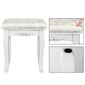 Vanity Stool Make Up Chair Dressing Room Bench Bedoom Stool Padded Seat NEW