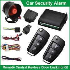 Car Security Alarm System Immobiliser Remote Central Locking Shock Sensor Kit AU
