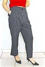 pantalon large laine marine et doré HIGH USE T 40-42 NEUF ÉTIQUETTE val 350€