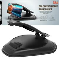 Car Dashboard Mount Stand Mobile Phone Holder Suction Dash Mat Bracket Access