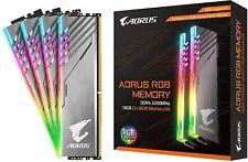 GIGABYTE AORUS RGB Memory 3200MHz DDR4 16GB (2x8GB) Kit with Exclusive